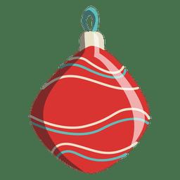 Desenhos animados de bola de Natal 237