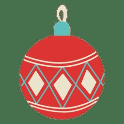 Christmas ball flat icon 126