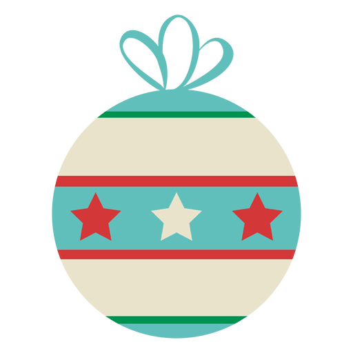 Starry Christmas Ornament Transparent PNG