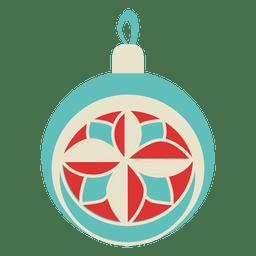Bola de Navidad plana icon 215