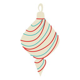 Christmas ball flat 139