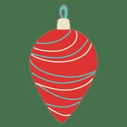 Christmas ball flat 155