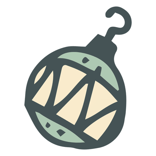 Christmas Hand Drawn Ball Transparent PNG