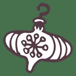 Weihnachtsgekritzel Ornament Design