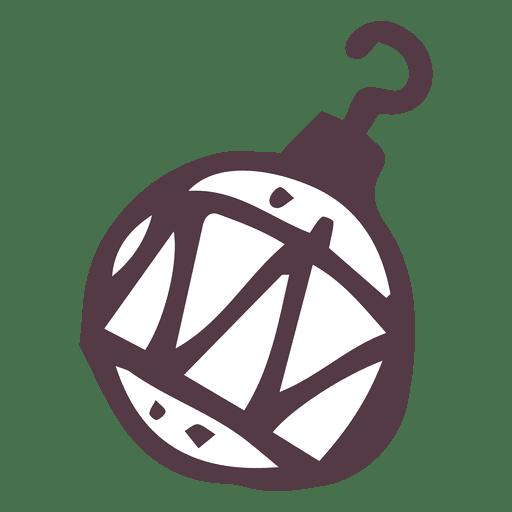 Dibujado a mano bola de vacaciones Transparent PNG