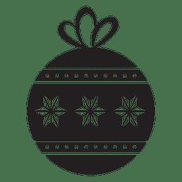 Christmas ball icon 131