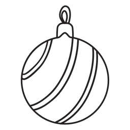 Icono de golpe de bola de Navidad 219