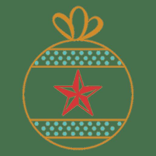 Christmas Ornament Stroke