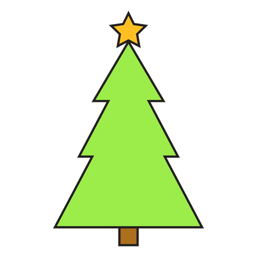 christmas tree cartoon icon 57 transparent png svg vector file christmas tree cartoon icon 57