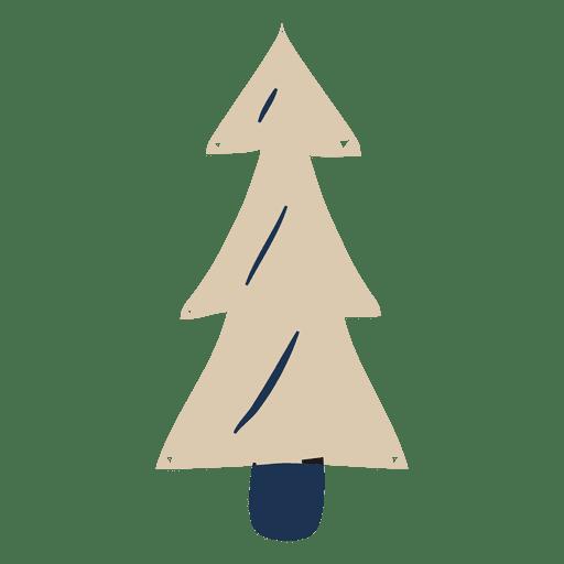 christmas tree flat icon 84 png - Flat Christmas Tree
