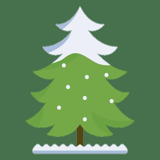 Árbol de Navidad nevado rizado icono de rama 36 Transparent PNG