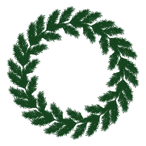 Christmas Wreath Silhouette.Christmas Wreath Green Silhouette 17 Transparent Png Svg