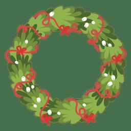 Christmas wreath icon 1