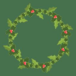 Christmas wreath icon 10