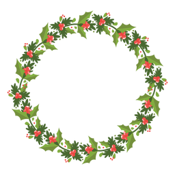 Christmas wreath icon 12