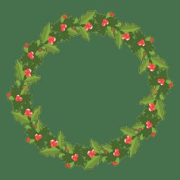 icono de la corona de Navidad 12
