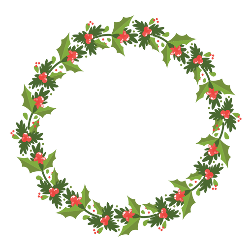 Christmas wreath icon 12 Transparent PNG