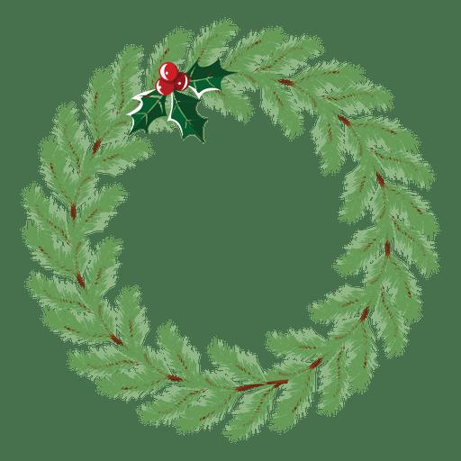 Icono de corona de Navidad 25