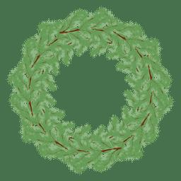 Kreis Weihnachtskranz Rahmen
