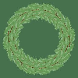 Christmas wreath icon 26