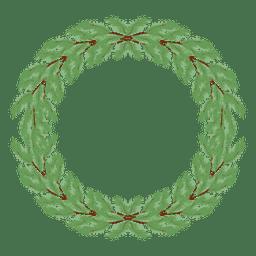 Christmas wreath icon 29