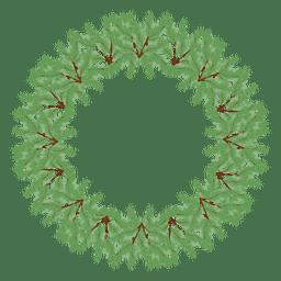 Icono de corona de Navidad 31
