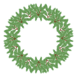icono de la corona de Navidad 31