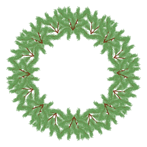 Christmas wreath icon 31 - Transparent PNG & SVG vector