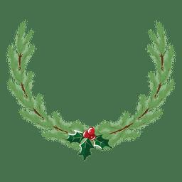 Christmas wreath icon 32