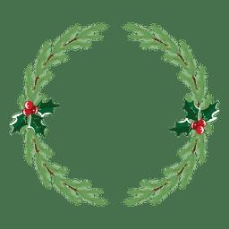 Christmas wreath icon 33