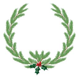 Christmas wreath icon 34