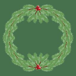 Christmas wreath icon 35