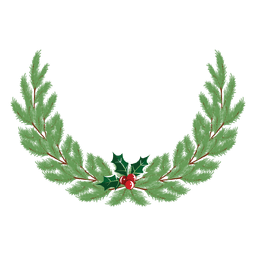 Christmas wreath icon 36