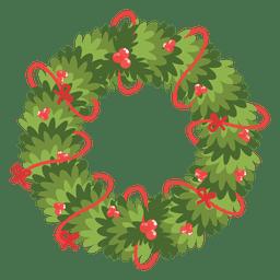 Guirnalda de Navidad icono de arcos rojos 13