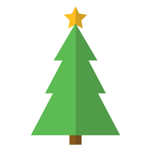 christmas tree flat icon transparent png - Christmas Tree Transparent