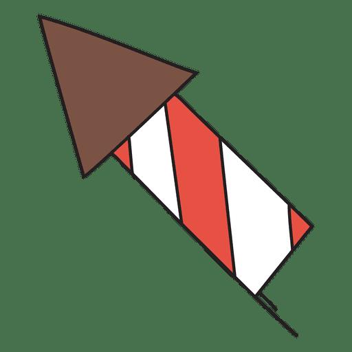 Icono de dibujos animados de fuegos artificiales 36