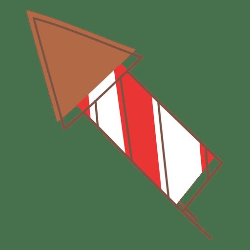 Icono de dibujos animados de fuegos artificiales 76