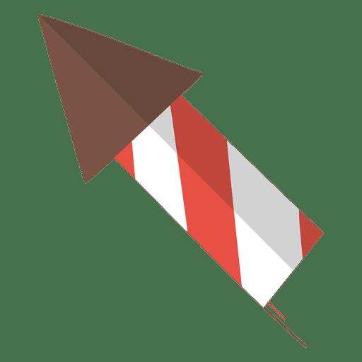 Icono plano de fuegos artificiales 9
