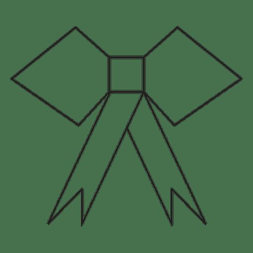 Ícone de traçado geométrico arco 25 Transparent PNG