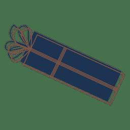 Icono de dibujos animados caja de regalo 78