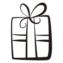 Gift box stroke icon 53
