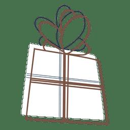 Gift box stroke icon 70