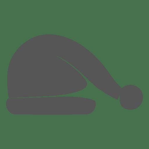 Grey santa claus hat icon 8 Transparent PNG