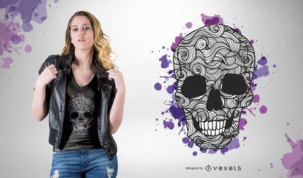 Diseños de camisetas de vectores gratis 05