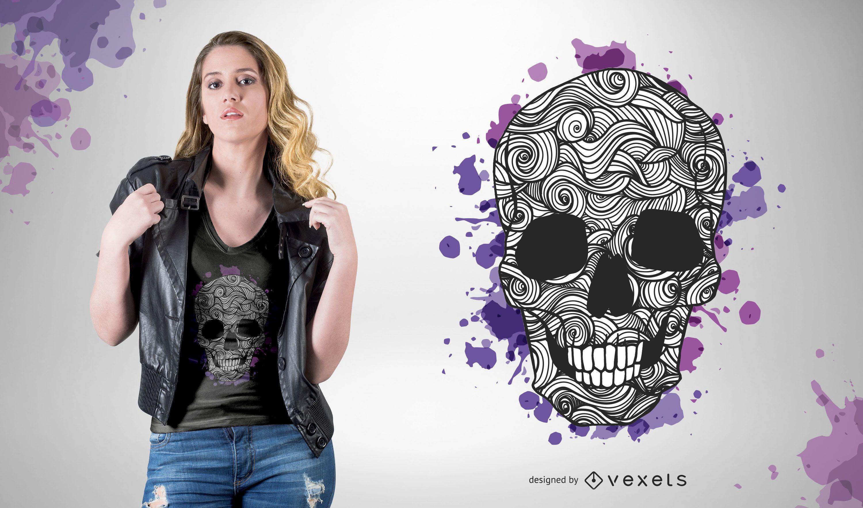 Diseños de camiseta de vector libre 05