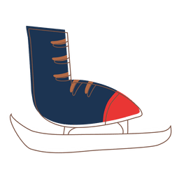 Ícone dos desenhos animados Iceskate 75
