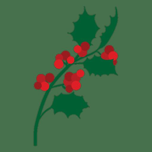 Icono de rama de muérdago 15