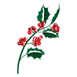 Mistletoe branch icon 23