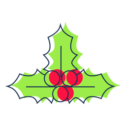 Minimalist Mistletoe