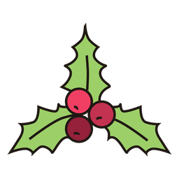 Mistletoe Cartoon Design